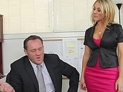 Amber Ashlee gets called into her boss's date
