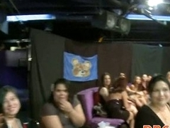 Girls go wild about stripper dick