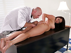Johnny Sins wants to bang shameless Samm Rosees sweet frowardness forever
