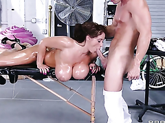 Eva Notty with the addition of Johnny Sins appreciate intercourse they will never forget
