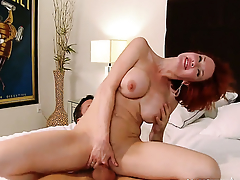 Alan Stafford is horny and cant wait any close to to stab Veronica Avluv with big tits and bald beaver
