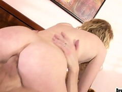 Check b determine a horny pest to mouth scene, Nicki Blue gets fucked again in her asshole